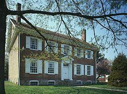 Summerseat, home of Robert Morris in Morrisville