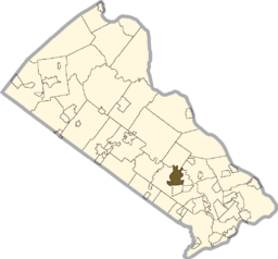 Map of Richboro